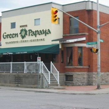 Green Papaya Restaurant OttawaRestos